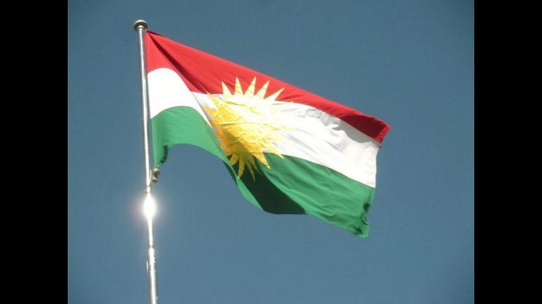 پرچم کردی و ترجمه زبان کردی