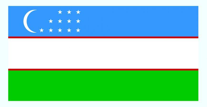 پرچم ازبکستان
