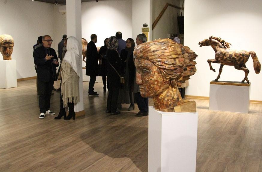 نمایشگاه مجسمه سازی