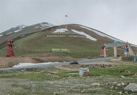 دره تالاس شهری باستانی در دل رشته کوه ها در کشور قرقیزستان