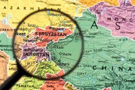 نقشه کشور قرقیزستان