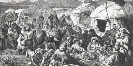 تاریخ قرقیزستان می تواند حداقل تا قرن اول میلادی برمیگردد