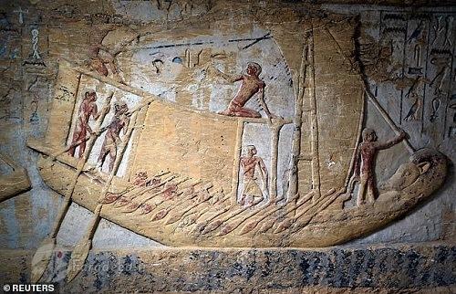 قایق های باستانی مصریان