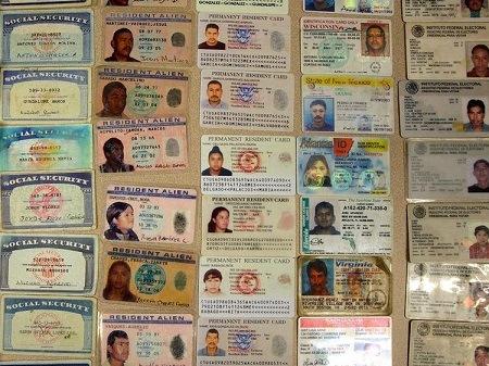 fake ID card