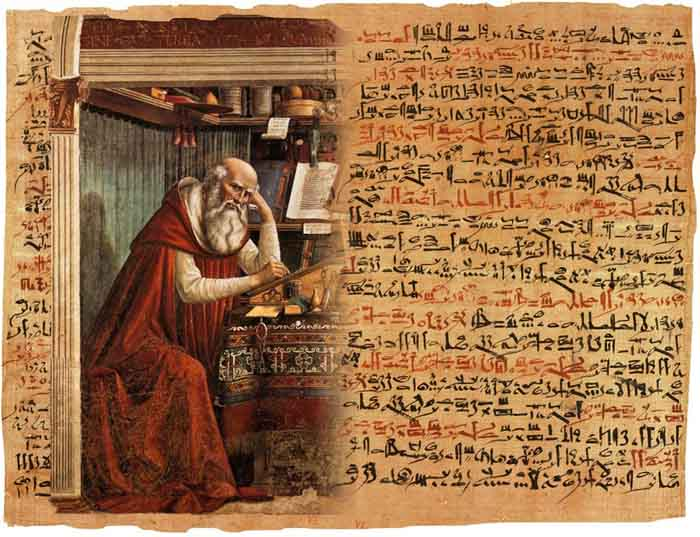 The Edwin Smith Papyrus is an Ancient Egyptian medical text on surgical trauma