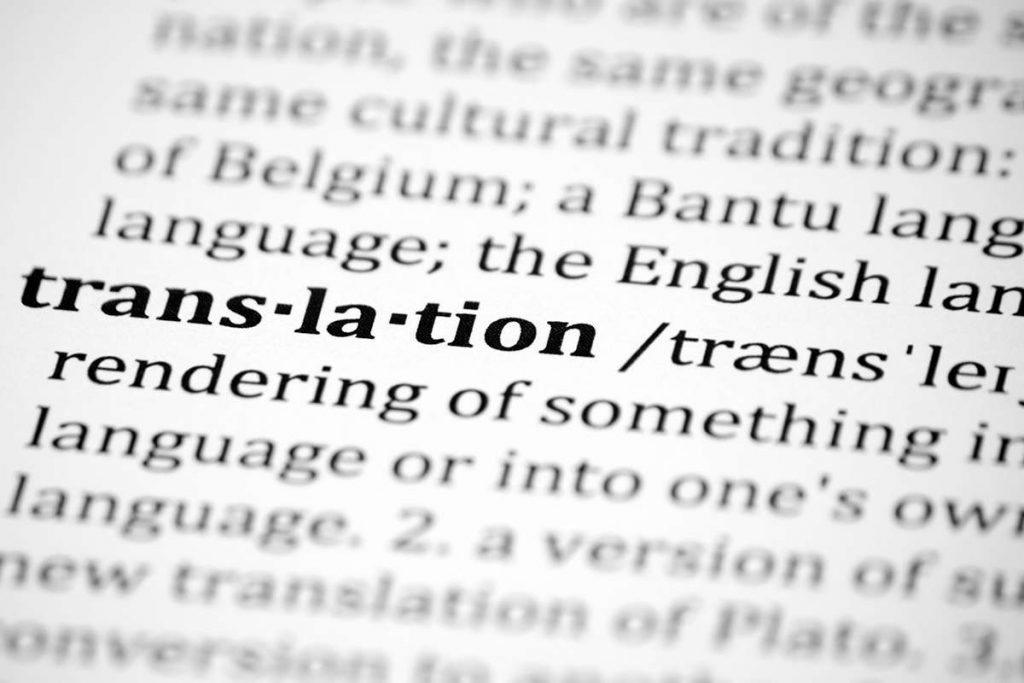 Translation is the communication of meaning from one language (the source) to another language (the target).