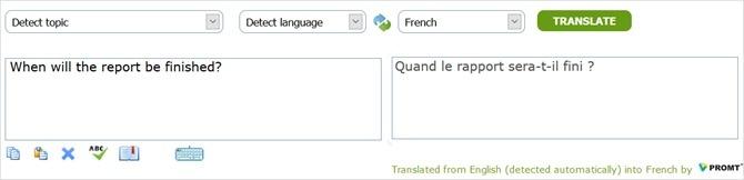 PROMT translation Sample