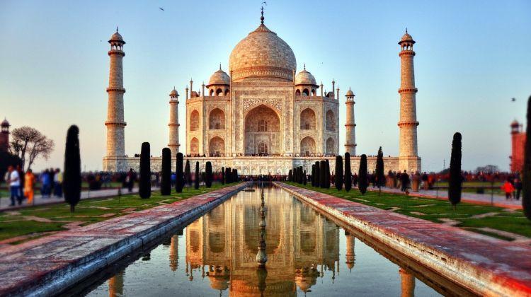 عمارت تاریخی تاج محل مقصد گردشگری تور هند