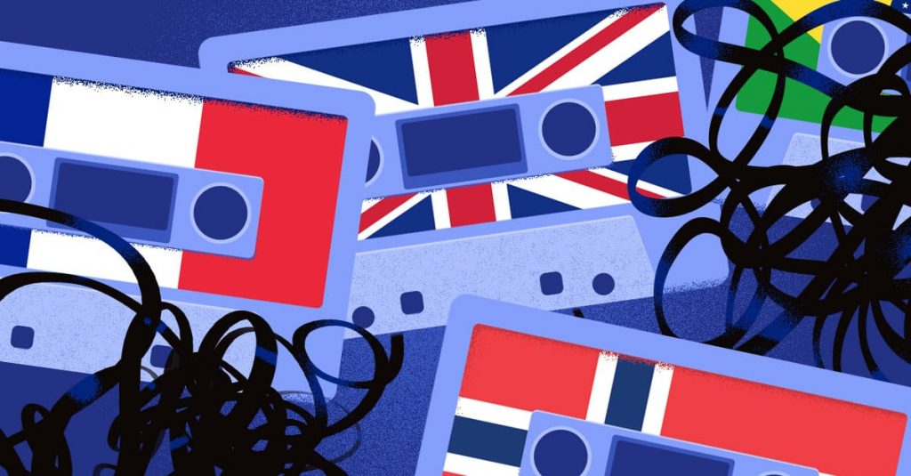 English audio and video translation