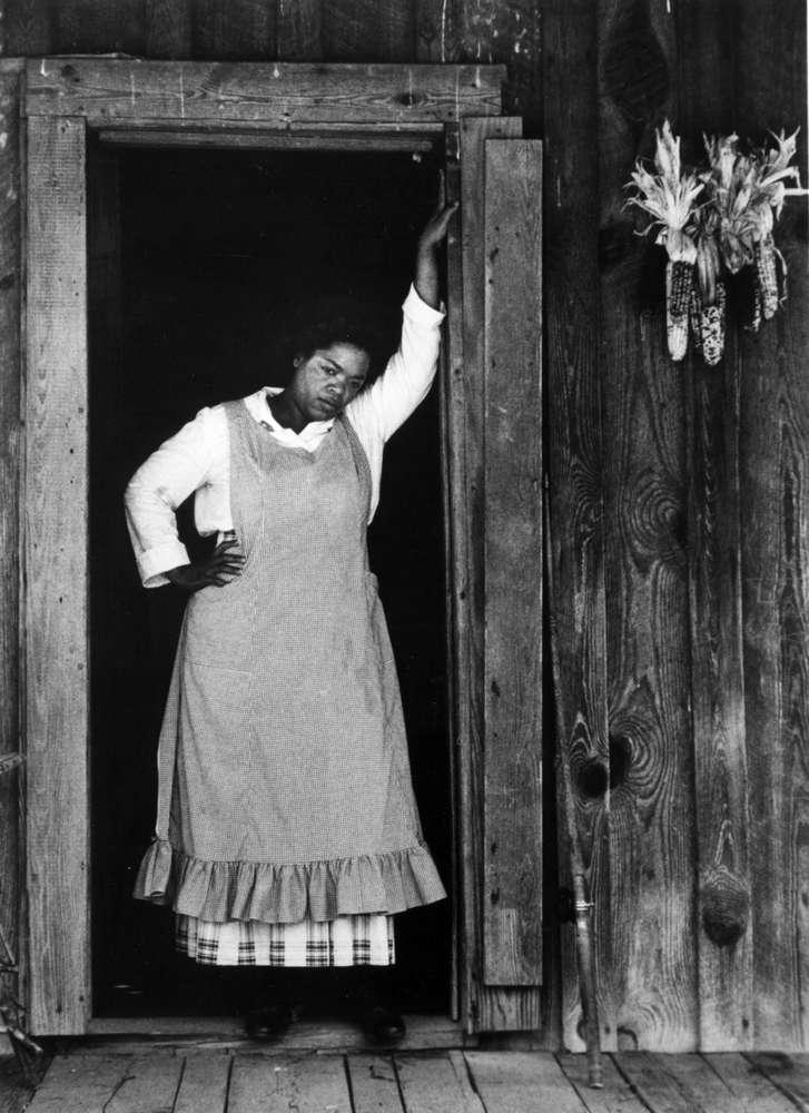 اپرا وینفری در فیلم رمان به رنگ ارغوانی