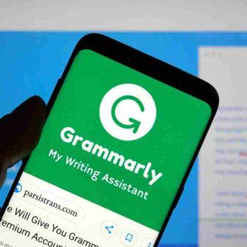 نرم افزار گرامرلی دستیار نویسندگان و مترجمان
