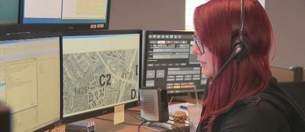 Dispatcher Gina Thrasivoulou took the call and helped walk the man through what to do to free the baby as the interpreter translated every step