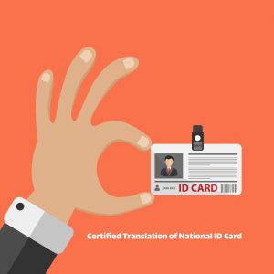 Certified Translation of National ID Card